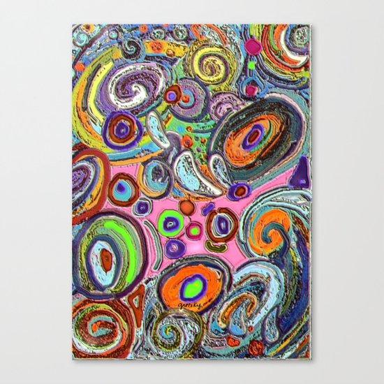 Abstracto Rocoso Canvas Print