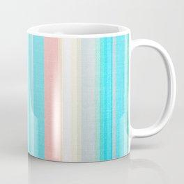 Summery Stripes, Serape Print. Coffee Mug