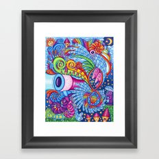 Icaros Framed Art Print