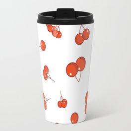 Cherry pattern Travel Mug