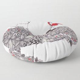 Little Red Riding Hood Floor Pillow