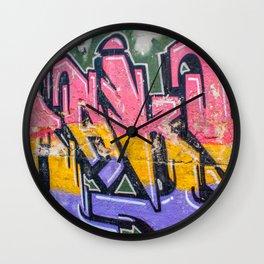 GRAFFITI 2 Wall Clock