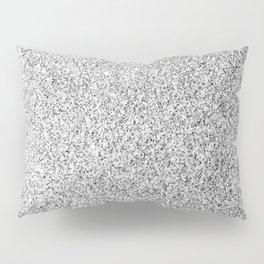 Beautiful Silver glitter sparkles Pillow Sham