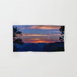 Colorful Sunset - North_Rim, Grand_Canyon, AZ Hand & Bath Towel