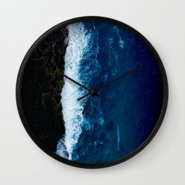 Sea 8 Wall Clock