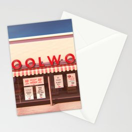 F.W. Woolworth Stationery Cards