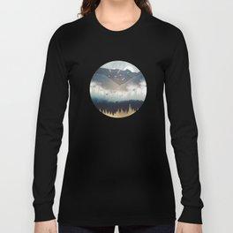 Blue Mountain Mist Long Sleeve T-shirt