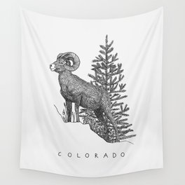 COLORADO STATE Wall Tapestry