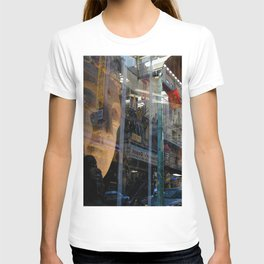 Window Reflection 006 (Buddha) T-shirt