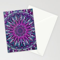 Iris Mandala 2 Stationery Cards