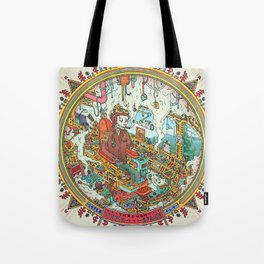 Time to Travel. Tote Bag