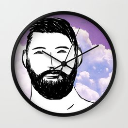 Beard Boy: Dario Wall Clock