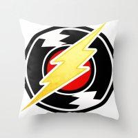 homestuck Throw Pillows featuring flash/homestuck by scubaduval