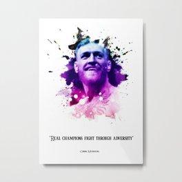 Connor McGregor Metal Print