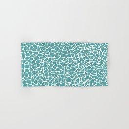 AFE Medium Terrazzo Pattern 101 Cadet Blue Hand & Bath Towel