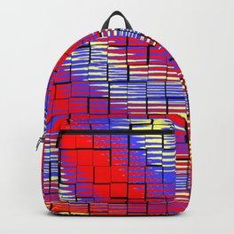 Ondulations colorées .... Backpack