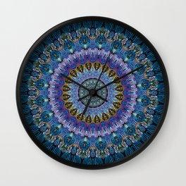Blue Luna Wall Clock