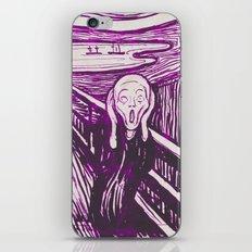The Scream's Haze (purple) iPhone & iPod Skin