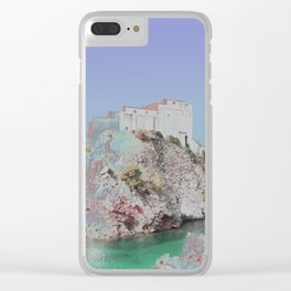 Chromascape 42 (dubrovnik, croatia) Clear iPhone Case