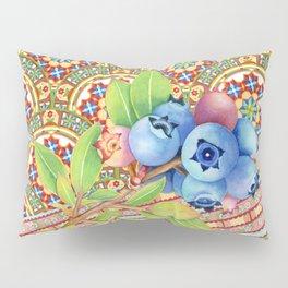 Nouveau Rococo Blueberries Pillow Sham