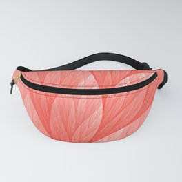 Reef Coral Living Color of the Year 2019 Abstract Pattern Fractal Fine Art Fanny Pack