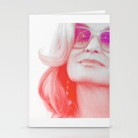 jessica lange Stationery Cards featuring Jessica Lange Quote by NameGame