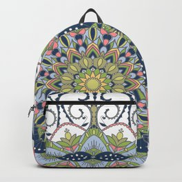 Blue Mandala Backpack