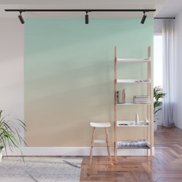 MELLOW TIMES - Minimal Plain Soft Mood Color Blend Prints Wall Mural