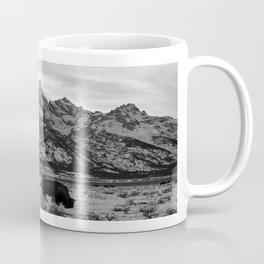 Bison and the Tetons Coffee Mug
