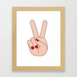 YES! Framed Art Print
