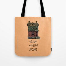 Home Sweet Home Quotes Tote Bag