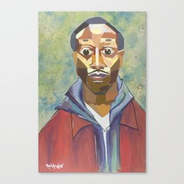 The Tribute Series-Kalief Browder Canvas Print