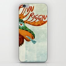 Finn Riggins gig poster iPhone & iPod Skin
