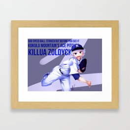 Kululu Mountain's Ace Pitcher Framed Art Print