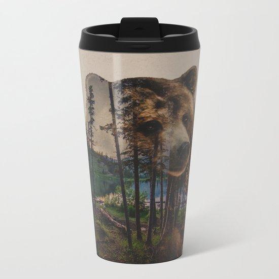 Bear Lake Metal Travel Mug