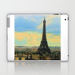 Watercolor Dream of Paris Laptop & iPad Skin