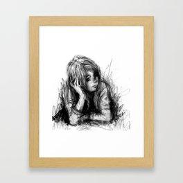 Thinker Dreamer Framed Art Print