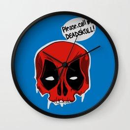 Deadskull. Wall Clock