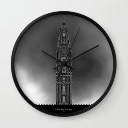 HexArchi - Portugal, Porto, Igreja dos Clérigos . Torre Wall Clock