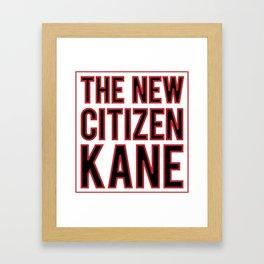 The New Citizen Kane Framed Art Print