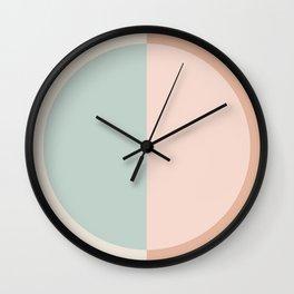 Color Block Abstract VI Wall Clock