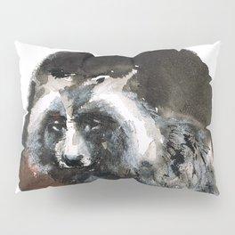 Totem  Racoon dog Pillow Sham