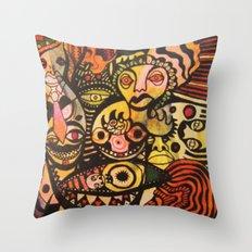 mo skribb Throw Pillow