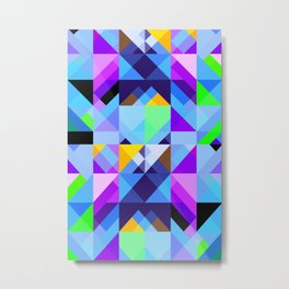 Geometric XVIII Metal Print