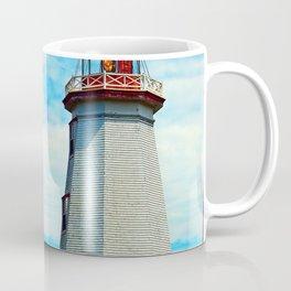 Red Light of North Cape Lighthouse Coffee Mug