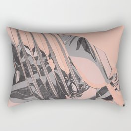 Neon Butterfly stg 06 ACID Rectangular Pillow