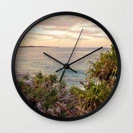 Lunar Lookout Wall Clock