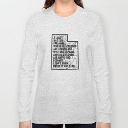 Raising Arizona - Maybe It Was Utah Long Sleeve T-shirt