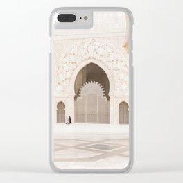 Hassan II Mosque - Casablanca II Clear iPhone Case