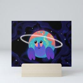 Cosmic shells Mini Art Print